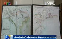 Tiếp nhận bản đồ xuất bản năm 1827 khẳng định chủ quyền biển đảo của Việt Nam