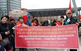 Kiều bào và bạn bè quốc tế lên án hành động của Trung Quốc tại biển Đông