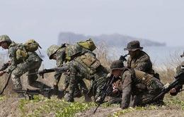 Philippines và Mỹ tập trận bắn đạn thật