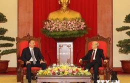 Tổng Bí thư Nguyễn Phú Trọng tiếp Tổng thống Azerbaijan