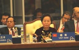Phó Chủ tịch nước Nguyễn Thị Doan tham dự hội nghị xây dựng lòng tin châu Á