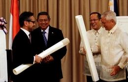 Philippines và Indonesia ký Hiệp định phân ranh giới vùng đặc quyền kinh tế
