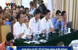 Bộ Ngoại giao họp báo quốc tế về tình hình Biển Đông
