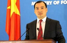 Việt Nam yêu cầu Trung Quốc chấm dứt ngay các hoạt động vi phạm vùng biển của Việt Nam