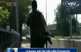 Lực lượng Cảnh vệ quốc gia Ukraine phong tỏa thành phố Donesk