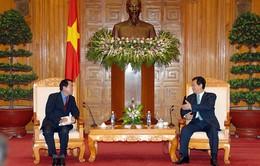 Thủ tướng tiếp Chủ tịch Hãng thông tấn Yonhap