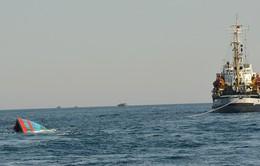 Ngư dân và tàu ĐNA 90152 bị tàu Trung Quốc đâm chìm đã về đất liền an toàn