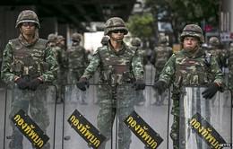 Quân đội Thái Lan dọn dẹp khu vực gần Tượng đài Chiến thắng ở Bangkok