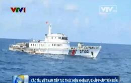 Cập nhật 3/6: Tàu Trung Quốc áp sát, ngăn cản tàu Việt Nam tiến vào khu vực giàn khoan