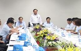 Bí thư thành ủy Hà Nội làm việc với các doanh nghiệp FDI