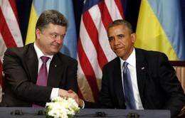 Tổng thống Mỹ gặp Tổng thống đắc cử Ukraine