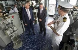 Bộ trưởng Quốc phòng Mỹ thị sát tàu chiến tại Biển Đen