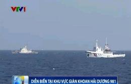 Cập nhật ngày 9/6: 110 tàu Trung Quốc bảo vệ giàn khoan trái phép