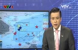 Trung Quốc gia tăng hành động gây hấn trên Biển Đông