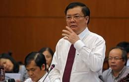Bộ trưởng Bộ tài chính trả lời chất vấn