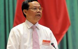 Tổng Thanh tra Chính phủ Huỳnh Phong Tranh trả lời chất vấn