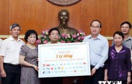 MTTQ Việt Nam tiếp nhận ủng hộ ngư dân và lực lượng kiểm ngư, cảnh sát biển