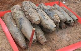 Yên Bái tiêu hủy 109 vật liệu nổ gồm cả bom và đạn cối