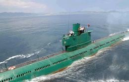 Nhà lãnh đạo Triều Tiên thị sát đơn vị tàu ngầm