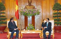 Thủ tướng Nguyễn Tấn Dũng tiếp Đại sứ Pakistan