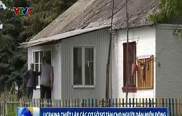 Ukraine thiết lập các cơ sở sơ tán cho người dân miền Đông