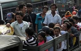 Thái Lan bác tin đồn trấn áp người lao động nước ngoài