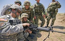 Mỹ - Gruzia huấn luyện quân sự chung