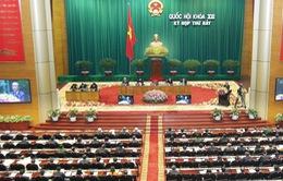 Quốc hội Thảo luận ở hội trường về dự án Luật hộ tịch