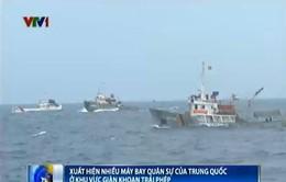 Cập nhật ngày 20/6: Nhiều máy bay quân sự Trung Quốc ở khu vực giàn khoan Hải Dương 981