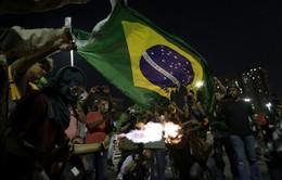 Brazil: Hàng nghìn công nhân xuống đường biểu tình mùa World Cup