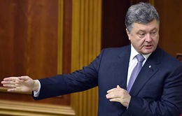 Tổng thống Ukraine công bố kế hoạch hòa bình