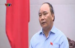 Phó Thủ tướng Nguyễn Xuân Phúc tiếp Đoàn Người có công tỉnh Nghệ An