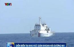 Ngày 24/6: Trung Quốc tăng thêm 1 tàu chiến quanh khu vực giàn khoan trái phép