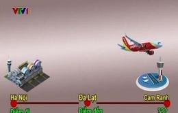 Giải trình lý do máy bay VietJet Air hạ cánh nhầm sân bay