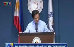Philippines phản đối bản đồ mới xuất bản của Trung Quốc