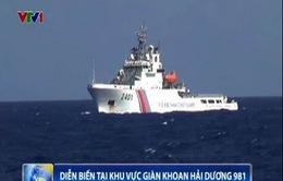 Cập nhật ngày 26/6: Trung Quốc duy trì 118 tàu, bật còi uy hiếp, sẵn sàng đâm va