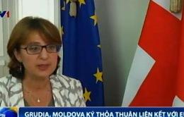 Gruzia và Moldova ký thỏa thuận liên kết với EU