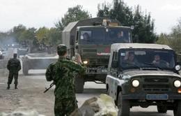 Quân đội Nga tập trận gần biên giới Ukraine