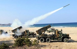 Triều Tiên bắn thử ba tên lửa tầm ngắn