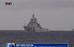 Cập nhật ngày 29/6: Mưa to, biển động tại KV giàn khoan Hải Dương 981 hạ đặt trái phép