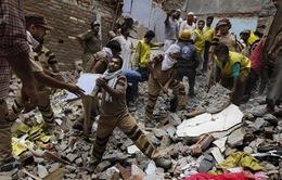 Sập nhà ở Ấn Độ, 11 người thiệt mạng