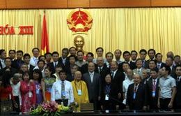 Chủ tịch Quốc hội Nguyễn Sinh Hùng tiếp Đoàn đại biểu Liên hiệp các Hội UNESCO