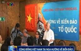 Cộng đồng Việt Nam tại Nga hướng về biển đảo