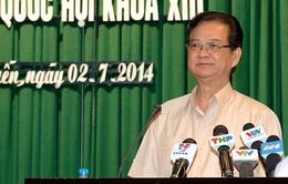 Thủ tướng Nguyến Tấn Dũng tiếp xúc cử tri Hải Phòng