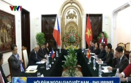 Phó Thủ tướng, Bộ trưởng Ngoại giao Phạm Bình Minh hội đàm Bộ trưởng Ngoại giao nước Cộng hòa Philippines