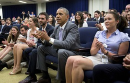 Tổng thống Obama gọi điện chúc mừng đội tuyển Mỹ