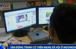 Indonesia: Vận động tranh cử trên mạng xã hội