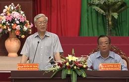 Tống Bí thư Nguyễn Phú Trọng làm việc với Lãnh đạo chủ chốt tỉnh Bình Thuận