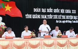 Phó Thủ tướng Nguyễn Xuân Phúc tiếp xúc cử tri Đại Lộc, Quảng Nam