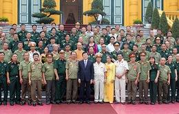 Chủ tịch nước gặp gỡ các cựu chiến binh Sư đoàn 356